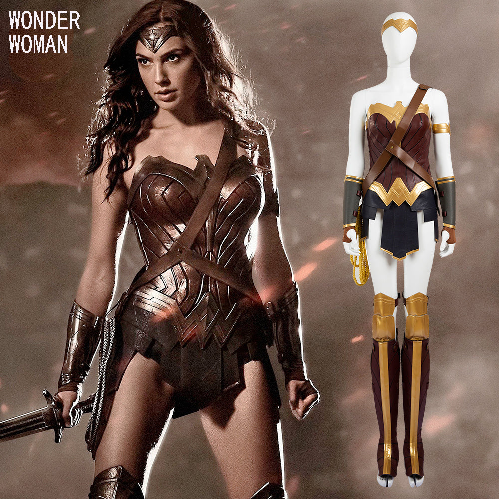 Wonder Woman Costume Halloween Fancy Dress