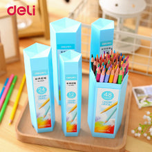 Deli 12/18/24/36/48 colors Pencil sets for School