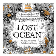 Lost Ocean  Coloring Books for Adult  Mandala Secret Garden 18.5*18.5cm 24Pages