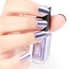 Colorful Mirror Effect Metal Nail Polish 6ml Shinny Metallic Nail Lacquer 13 Colors