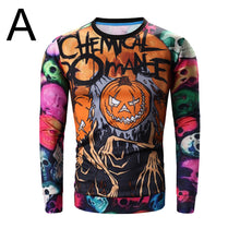 Halloween Pumpkin 3D Printed Fleece  Men's Fashion Hoddie Printing Cotton Sweatshirt