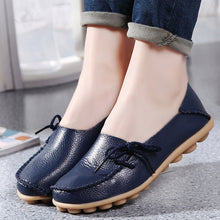 Ladies Flat Low Wedge Loafers Shoes Ladies Slip On Women