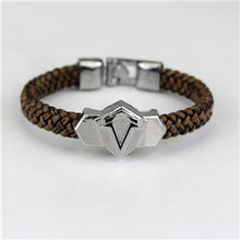 Stainless Steel Clasps Bracelets Men Weave  Rope Chain Wristband For Men  Jewelry