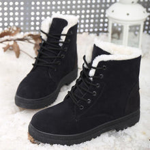Women Winter Snow Boots  Warm Casual Hairy  Suede