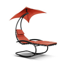 Outdoor Patio Chaise Lounge Chair Garden  Pool Chaise Rocker
