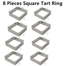 Tart Mold For Baking Silicon & Stainless steel With Hols
