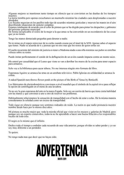 Tablón de Advertencia