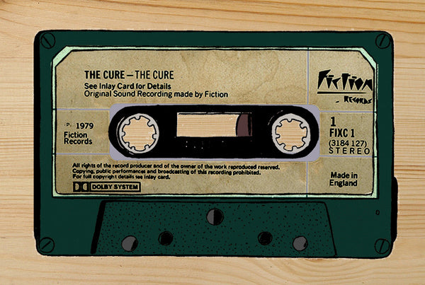 """THE CURE"" Cassette  DG06"