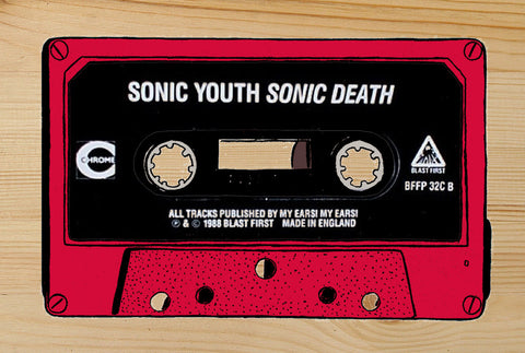 """SONIC YOUTH"" Cassette  DG19"