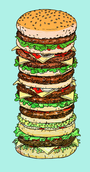 """Burguer"" By The Pop Factory DG59"