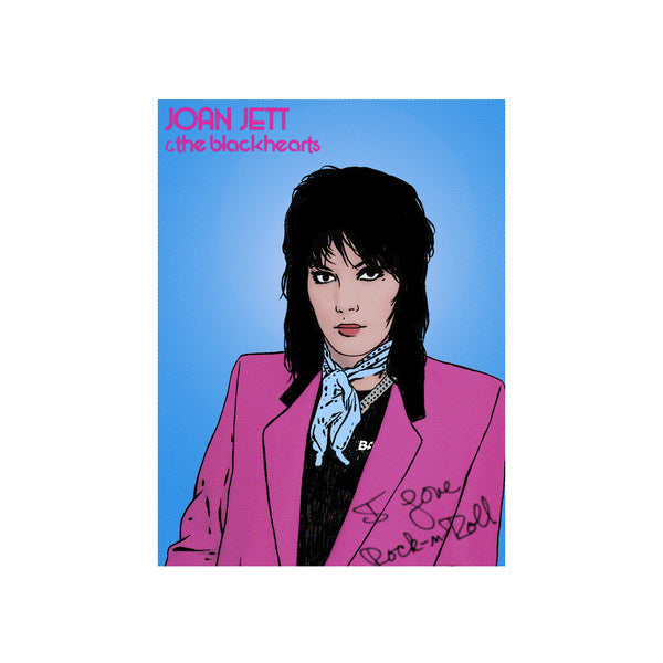 """Joan Jett"" BY BRUTO DG23"