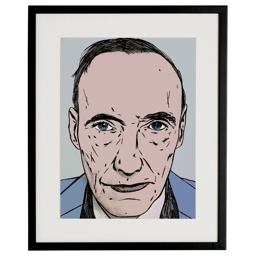 """william burroughs"" BY BRUTO DG24"