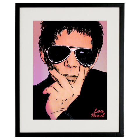 """Lou Reed"" BY BRUTO DG21"