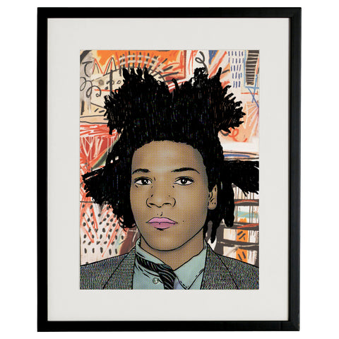 """J.M. Basquiat"" BY BRUTO DG31"