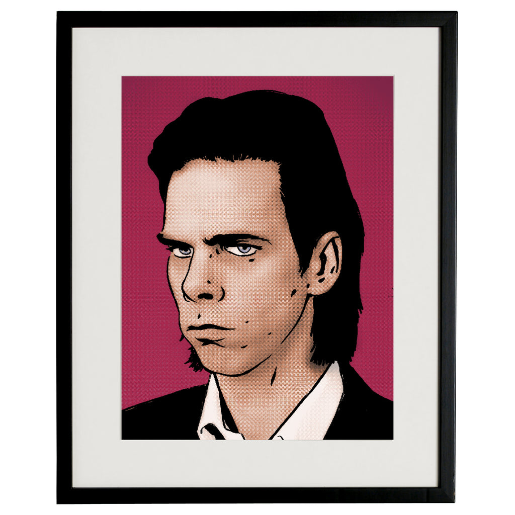 """Nick Cave"" BY BRUTO DG32"