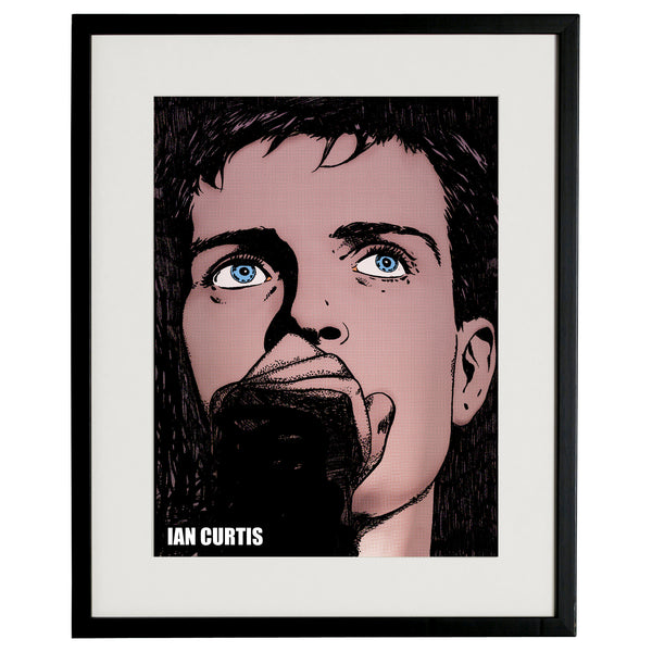 """Ian Curtis"" BY BRUTO DG35"