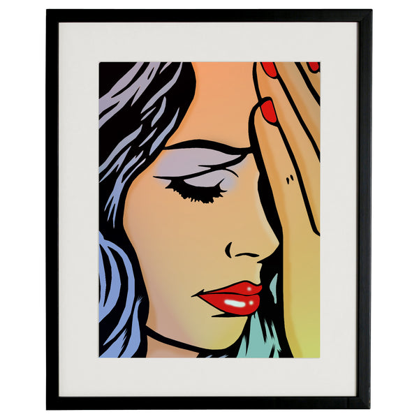 """SAD GIRL"" BY The Pop Factory DG17"