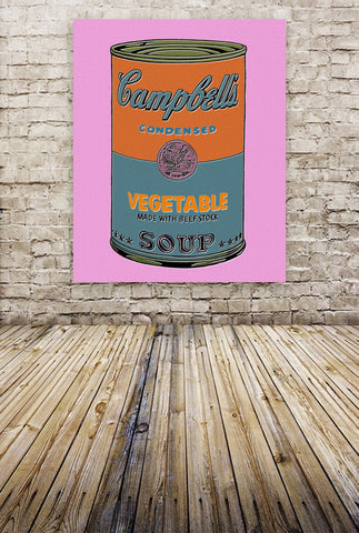 """Campbell's Soup"" By The Pop Factory DG46"