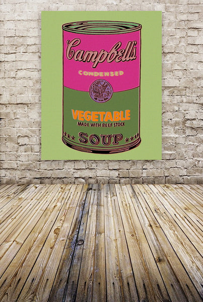 """Campbell's Soup"" By The Pop Factory DG47"