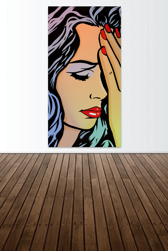 """Sad Girl"" By The Pop Factory DG63"