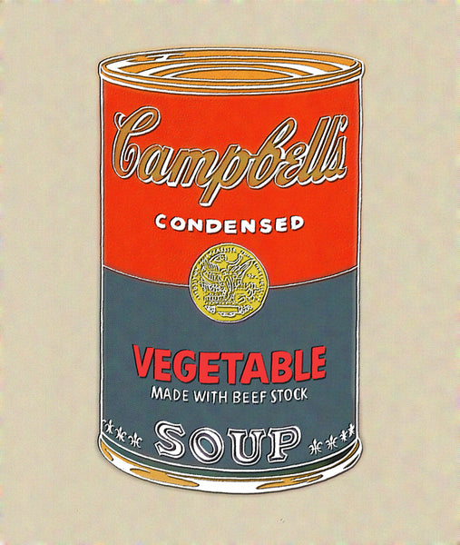 """Campbell's Soup"" By The Pop Factory DG48"