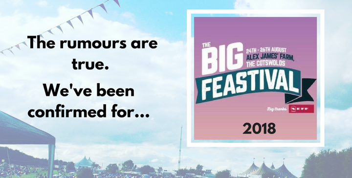 FestivalMart Is Heading to The Big Feastival 2018!