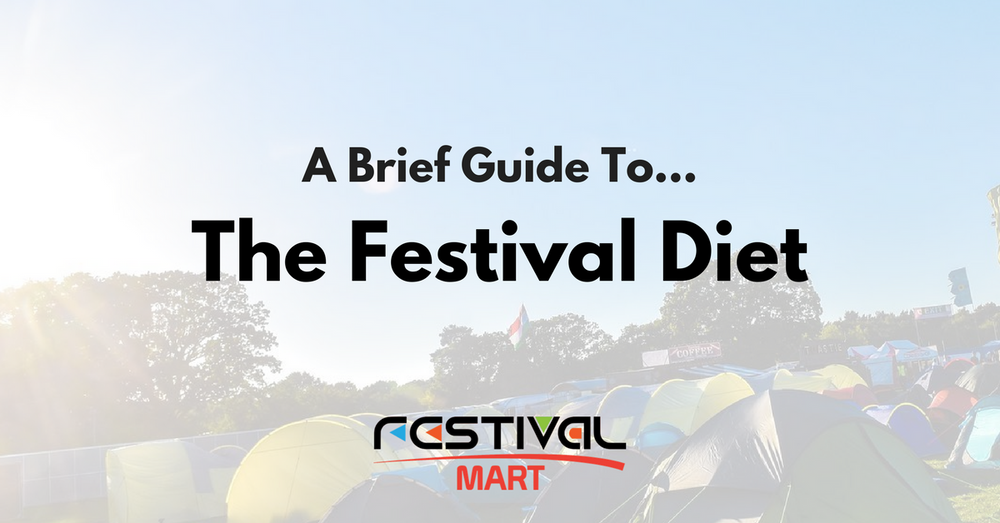 The Music Festival Diet - A Brief Guide