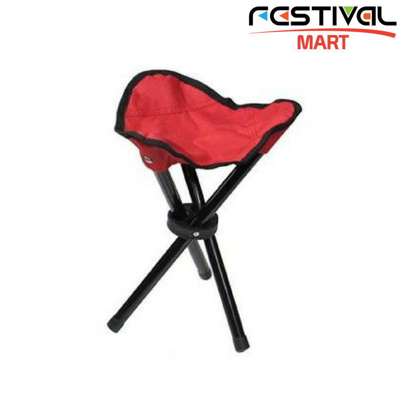 Festival Camping Stool Red Main