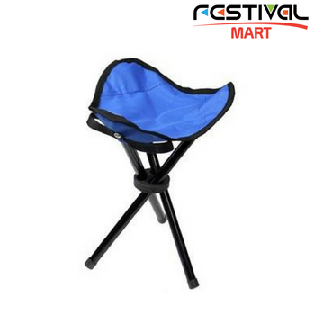 Festival Camping Stool Blue Main