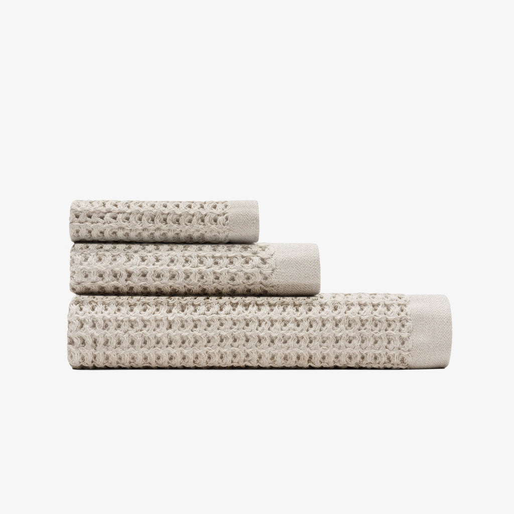 Onsen Towel Set in Oatmeal