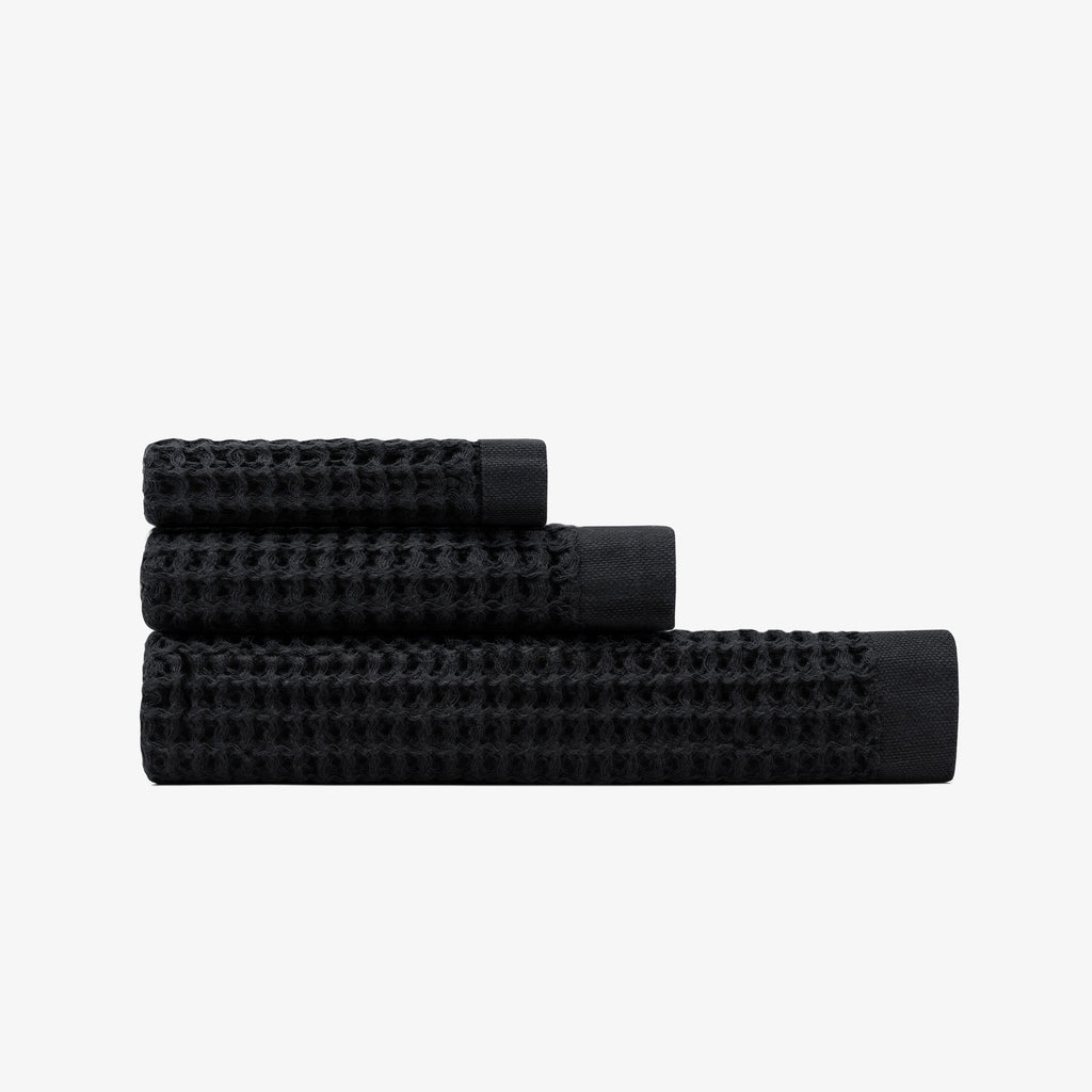 Onsen Towel Set in Black
