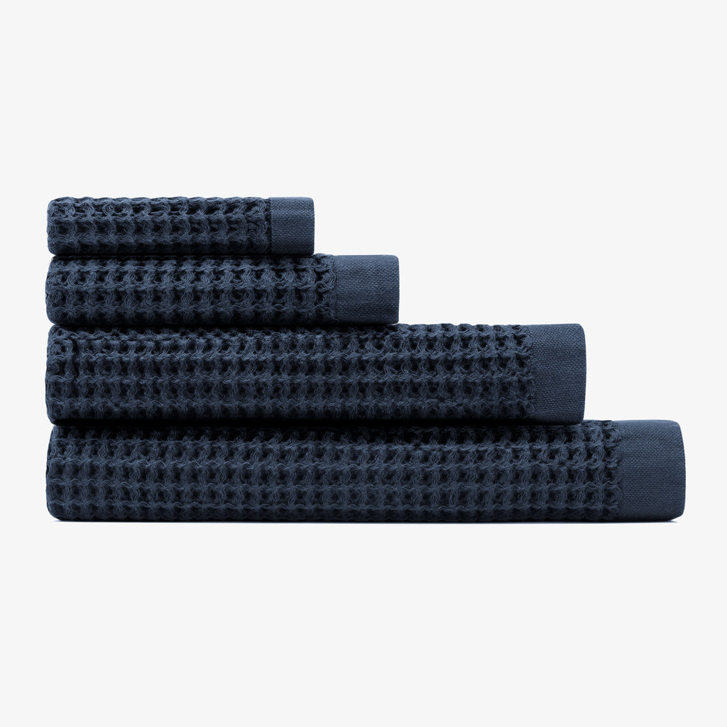 Onsen Complete Towel Set in Twilight Blue