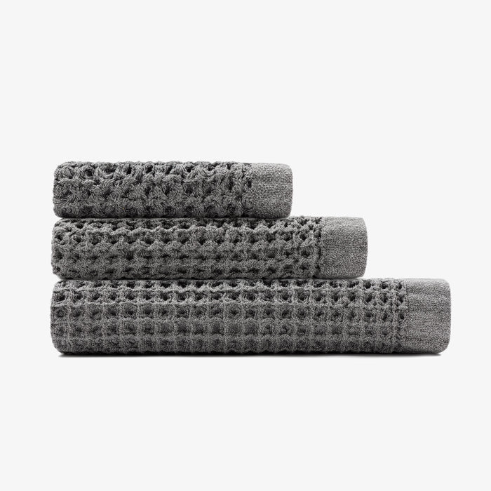 Onsen Towel Set - Cinder Grey