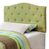 BM122792 Alipaz Contemporary Twin Headboard, Green