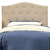 BM122796 Alipaz Contemporary Twin Size Headboard, Ivory