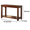 Estell Transitional Sofa Table - BM122891