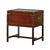BM122996 -Milbank Industrial Style End Table, Cherry Finish