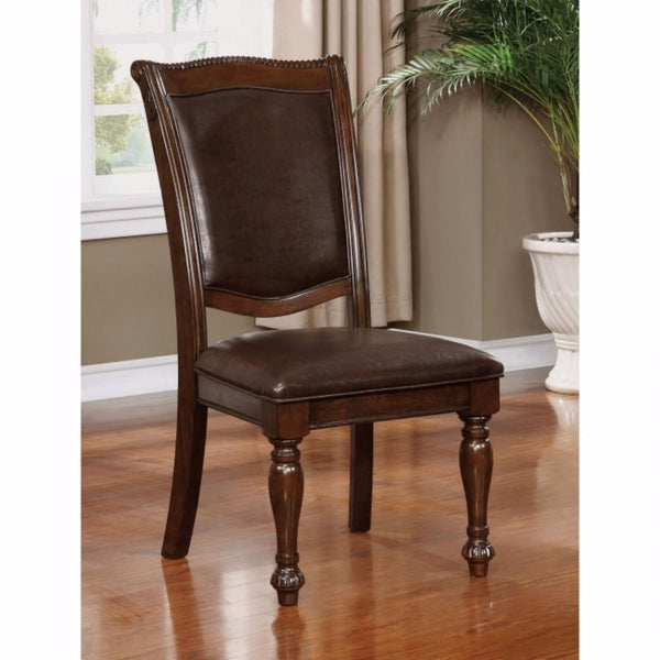 BM123018 Alpena Traditional Style Side Chair Set Of 2