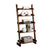 Lugo Transitional Style Ladder Shelf, Antique Oak Finish - BM123121