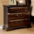 BM123246 Burleigh Transitional Night Stand In Cherry Finish