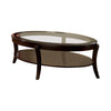 Finley Contemporary Coffee Table In Espresso Finish - BM123254