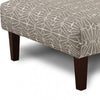 BM123432 Parker Contemporary Ottoman, Triangle Pattern