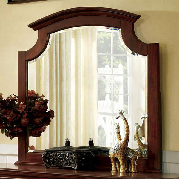 BM123525 Gabrielle II European Style Cherry Finish Mirror