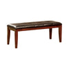 BM123678 Foxville Transitional Bench, Cherry