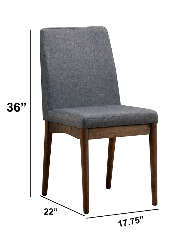 Eindride Mid-Century Modern Side Chair Set Of 2 - BM123798
