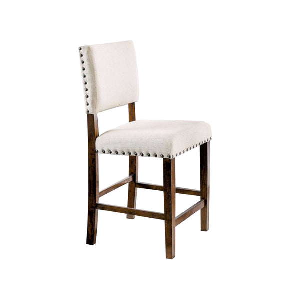 BM131110 Glenbrook Counter Height Chair, Brown Cherry Finish, Set Of 2