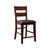 BM131200 Dickinson II Cottage Counter Height Chair, Dark Cherry, Set Of 2