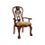 BM131215 George Town Traditional George Town Arm Chair, Set Of 2, Cherry Finish
