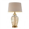 BM131788 LEE Contemporary Golden Glass Table Lamp, Translucent