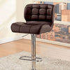 BM131943 Kori Contemporary Bar Chair, Brown Finish